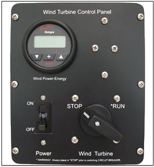 100a Wind Turbine Control Panel