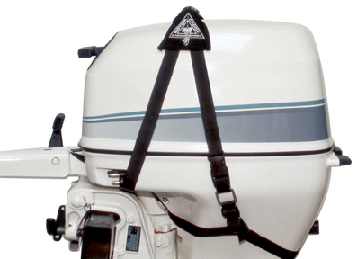 Caddy Eases Outboard Motor Transport